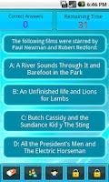 Screenshot of Movies Trivia