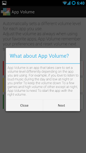 App Volume - screenshot thumbnail
