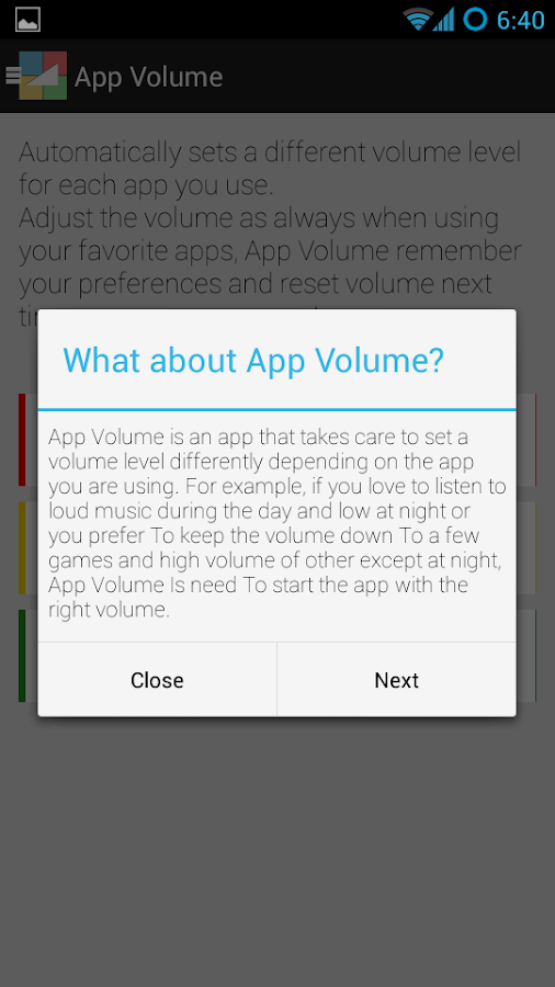 App Volume FULL- screenshot