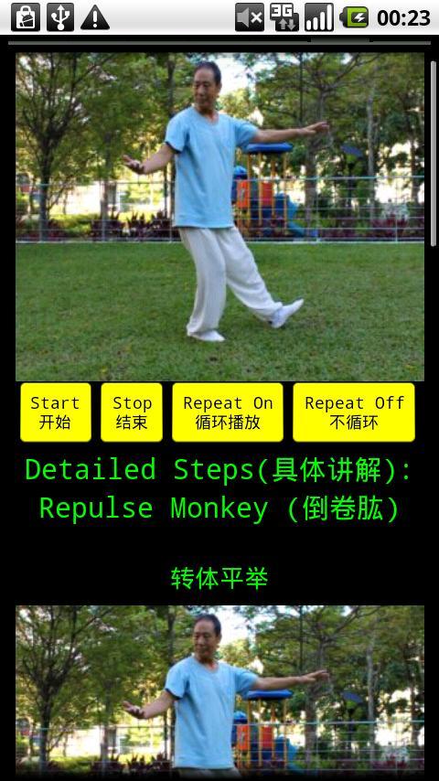Yang TaiChi40-2杨氏四十式太极拳2- screenshot