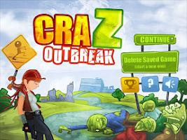 Screenshot of Zombie Defense - CraZ Outbreak