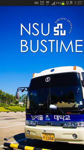 NSU BUS 남서울대 버스정보