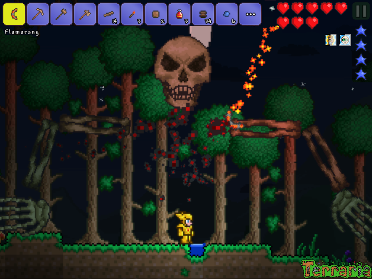 Terraria.- screenshot