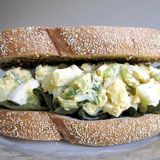 Basil Cucumber Egg Salad