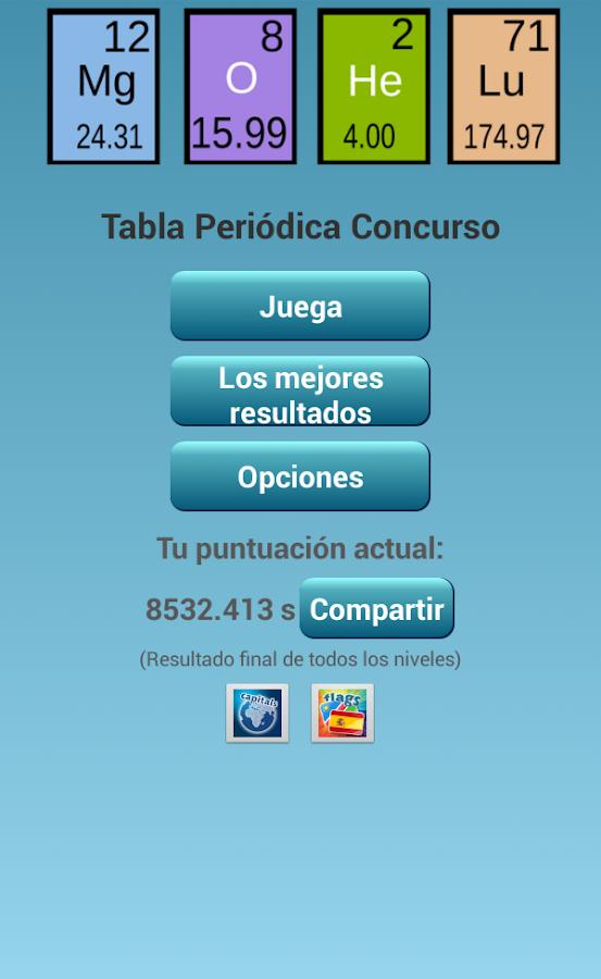 Tabla peridica concurso android en la escuela tabla peridica concurso urtaz Image collections