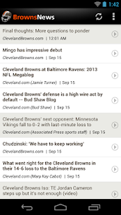 Browns News - screenshot thumbnail