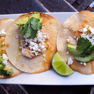 Spicy Tequila-Lime Fish Tacos.