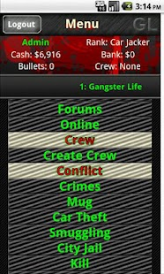 Gangster Life - MMORPG- screenshot thumbnail