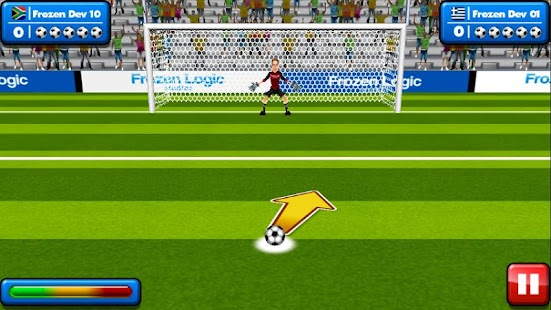 Soccer Penalty Kicks- screenshot thumbnail