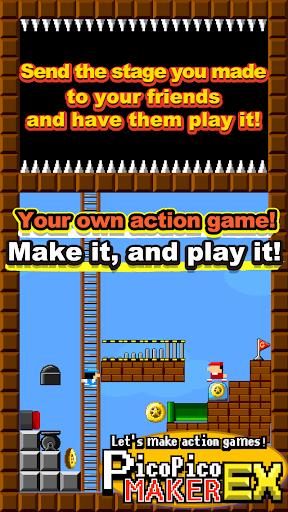 Make action. PicoPicoMakerEX