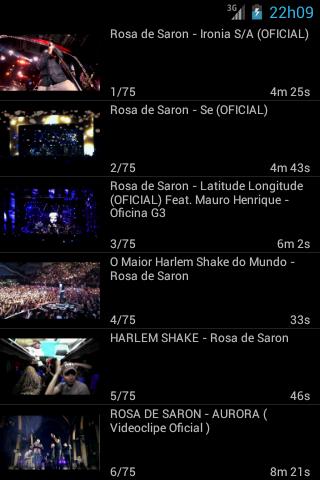 Rosa de Saron - Videos