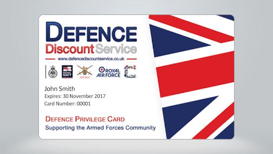 Defence Discount Service - screenshot thumbnail