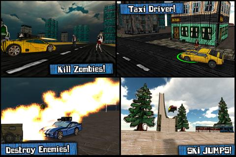 Cars And Guns 3D FREE - screenshot