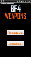 Screenshot of BF 4 Weapons