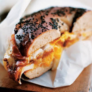 Bacon, Egg, and Cheese Sandwich, New York City Deli-Style.