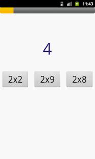 Таблица умножения - screenshot thumbnail