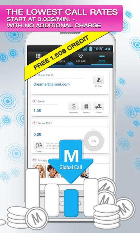 Global Call­ : Landline&Mobile - screenshot
