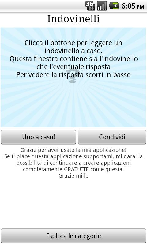 Indovinelli 750 in italiano - screenshot