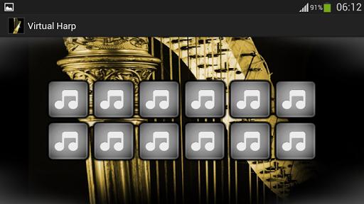 無料娱乐Appの仮想ハープ|記事Game