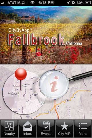 CityByApp® Fallbrook- screenshot