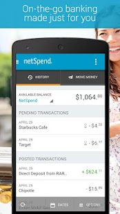 NetSpend Mobile Banking - screenshot thumbnail