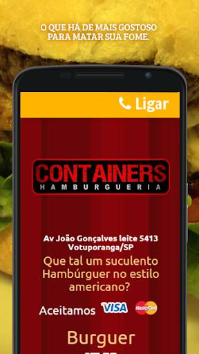 Containers Hamburgueria