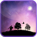 Meteor And Dance LWP Free icon