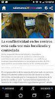 Screenshot of Salamanca 24 Horas