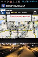 Screenshot of Minnesota Traffic Cameras