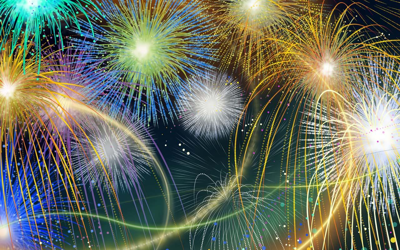 Amazing Fireworks - screenshot