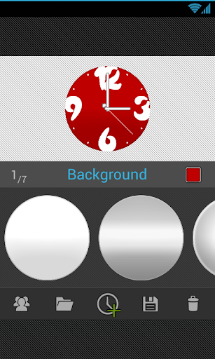 ClockWurkx Analog Clock Widget