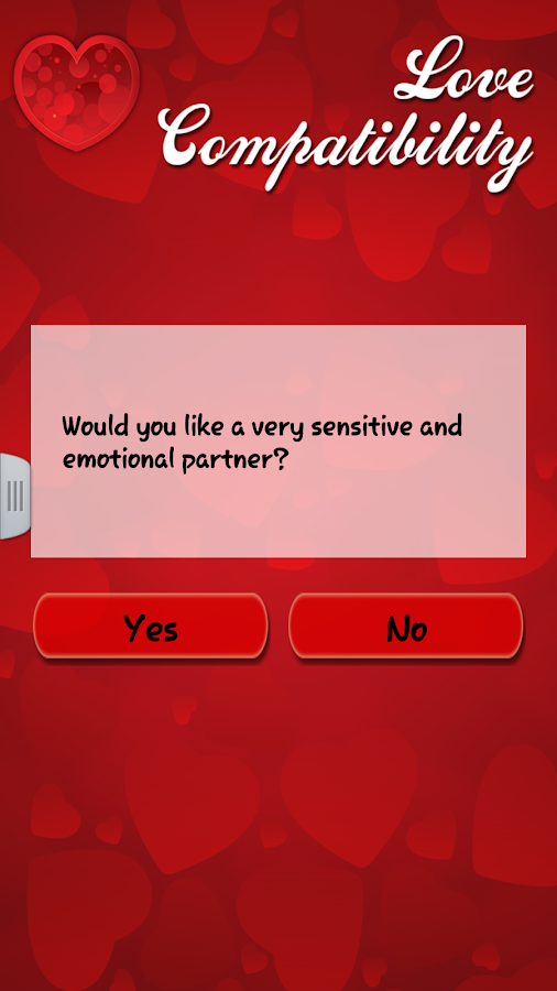 Love Compatibility - screenshot
