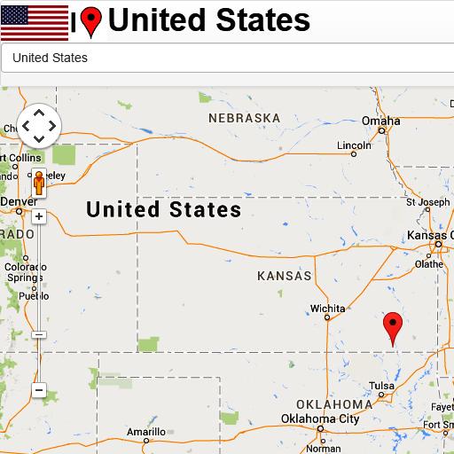 United States mapa