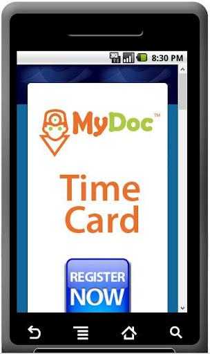 MyDoc TimeCard 240 Minutes