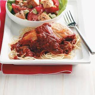 Chicken Marinara.