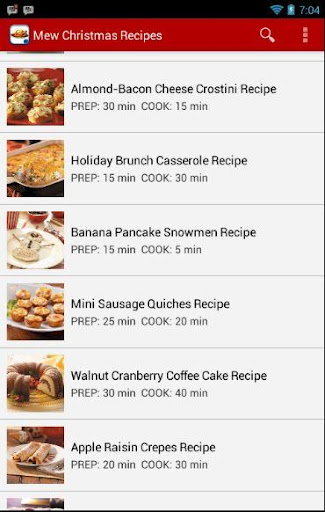 Christmas and New Year Recipes