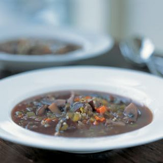 Mushroom-Quinoa Soup