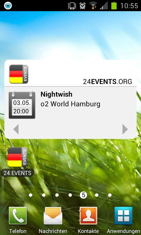 24 EVENTS › Eventguide - screenshot