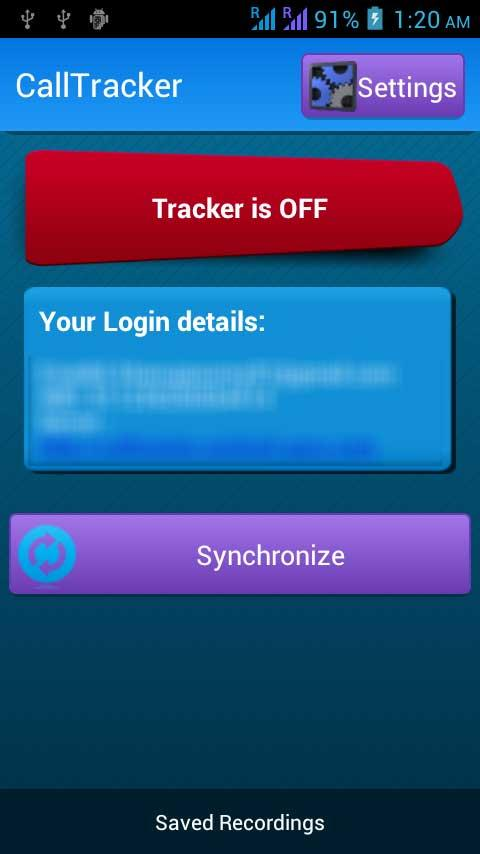 Call Tracker - Spy - screenshot
