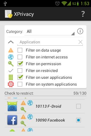 [ROOT] XPrivacy Installer - screenshot