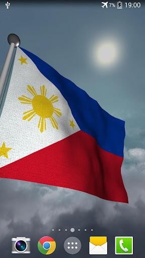 Philippines Flag + LWP