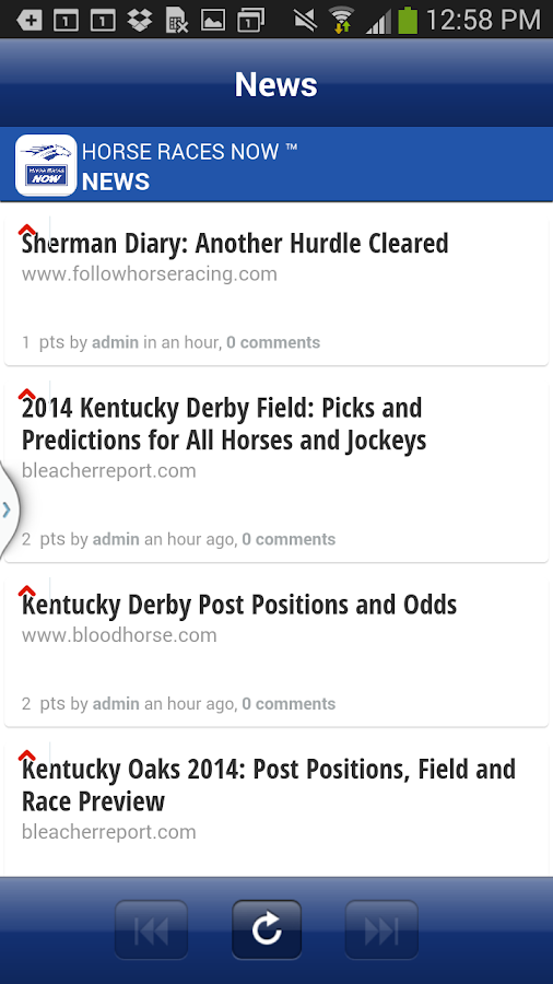 Horse Races Now - screenshot
