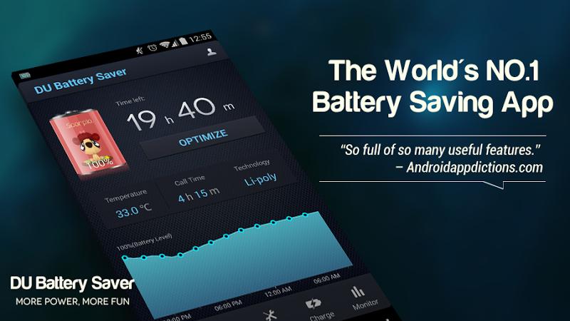 DU Battery Saver PRO & Widgets Screenshot 12
