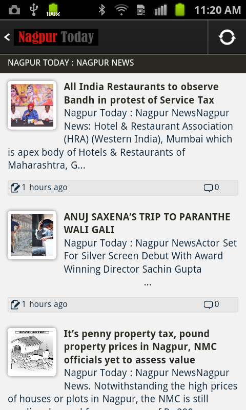 Nagpur Today News- screenshot
