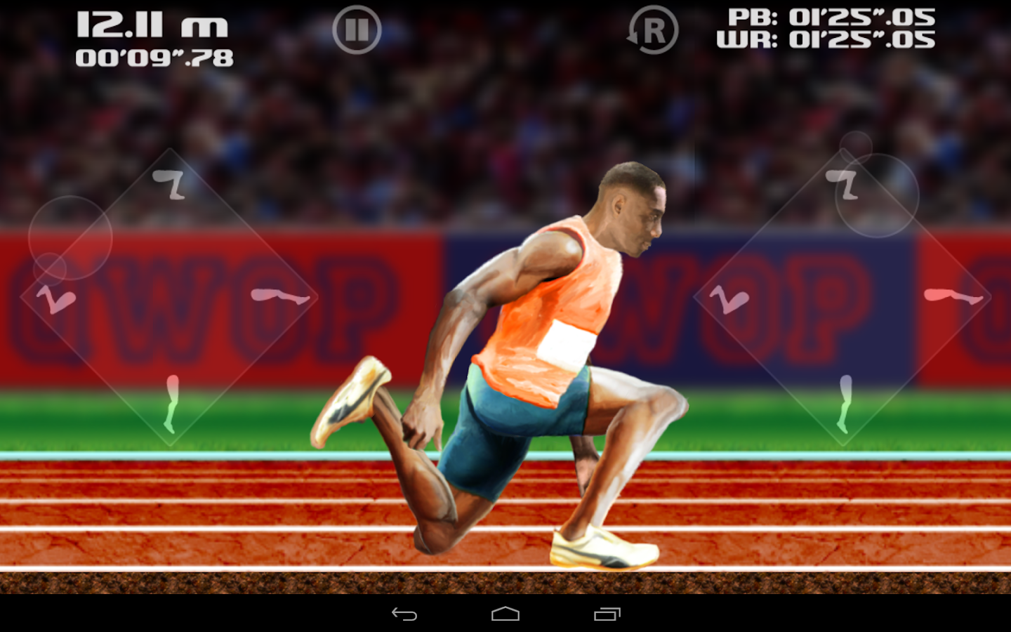 QWOP- screenshot