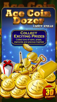 ACE COIN DOZER Lucky Vegas - screenshot