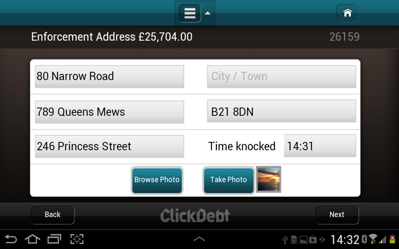 ClickDebt- screenshot