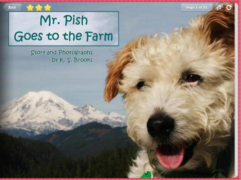 Mr Pish Goes To The Farm- Book- screenshot