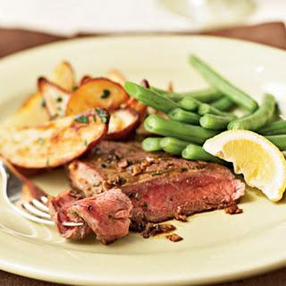 Italian Ribeye Steak.