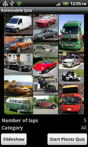 Auto Quiz - The world of cars